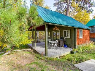 Intimate cabin w/deck & lofted bed, close to Payette Lake, McCall