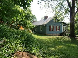 Riverfront Farm with Mountain Views, Hot Tub, Rileyville