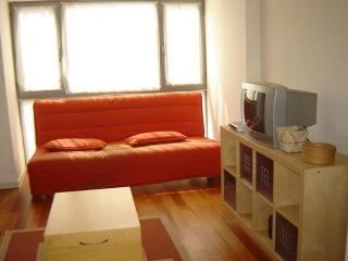 Apt. with fireplace,garden Lat, Lugo