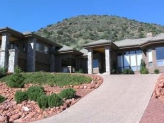 Palatial Luxury!! This home is a private mini-resort! Massive windows offer stunning views of the surrounding Red Rocks!!, Village of Oak Creek