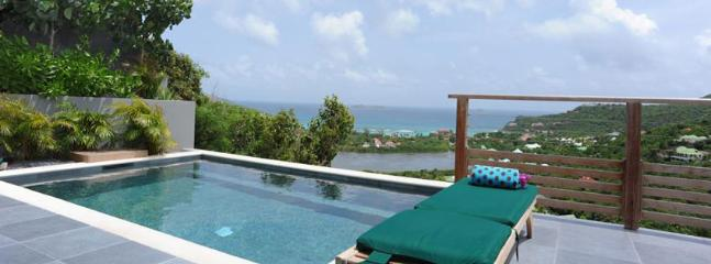 SPECIAL OFFER: St. Barths Villa 268  The Infinity Pool Is Overlooking The Entire Saint Jean Bay And The Eden Rock Hotel, Greatly Floodlighted At Night., St. Jean