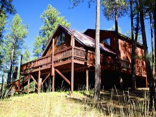 Sierra's Grace is a gorgeous home surrounded by the tall pines., Ruidoso