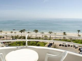 Outstanding full sea view apartment. with pool, Cala Millor