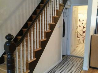 Renovated Brownstone home with Deck, Brooklyn
