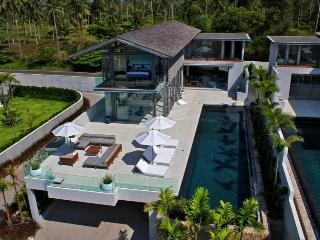 Incredible 4 bedr private beach villa, Khok Kloi