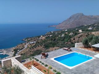 Stunning sea view,infinite blue,royal relaxation, Plakias