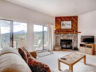 2 BR/2 BA Condo, breathtaking views, inviting atmosphere for 6, Silverthorne