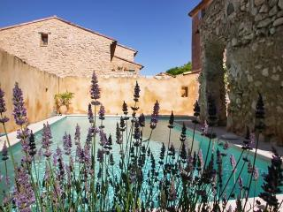 Provençal house with pool & garden, Rustrel