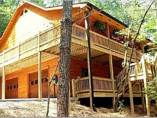 Luxury cabin, secluded, just minutes from town!, Ellijay