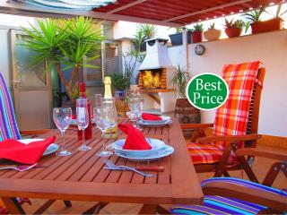 Atico, Airport Barcelona, Terraza & BBQ.  (R) n, Viladecans