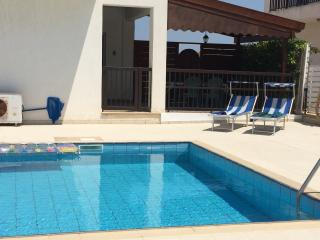 Family-friendly 4 bed villa with pool and wifi, Paralimni
