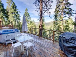 Lovely Remodeled Cabin with Hot Tub and Views ~ RA678, South Lake Tahoe