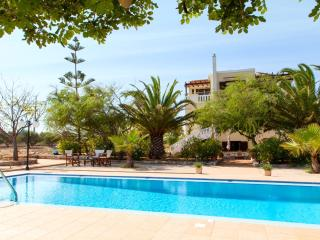 Beautiful 3-bedroom villa with pool near the beach, Stavros
