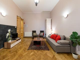 4 bdr Old River Apartment in the city centre, Krakow