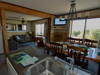 Open, spacious Living, Dining and Kitchen area.