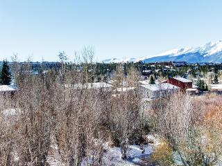 Alpine getaway with shared hot tub & room for 10!, Dillon