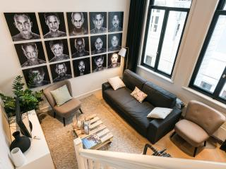Newly designed city centre suite, Amsterdam
