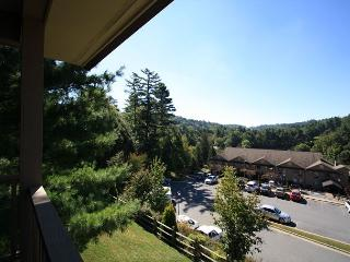 Chetola Oak #4 is a charming 2 bedroom condo in Chetola Resort, Blowing Rock