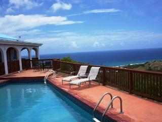 Ulo Udo with pool & sweeping views of Salt River, Frederiksted