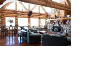 LUXURIOUS LAKEFRONT LOG HOME, Hunter