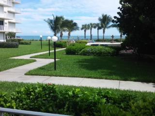 Ocean Front first floor end unit, Vero Beach