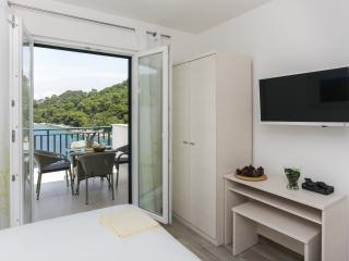 Apartments Posta - One-Bedroom Apartment with Terrace and Sea View (3 Adults) - Apartman 7, Saplunara