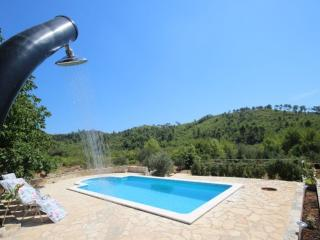 Holiday house with pool in Prizba, Korcula Island