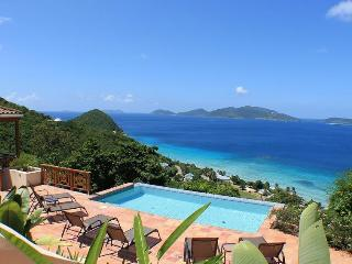 3 bedroom hillside villa with incredible views, Tortola