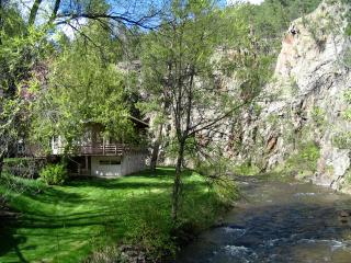 New Listing!  2 BR, 2 BA Creek Front Cabin, Rapid City