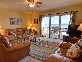Surf Condo 123 - Majestic Ocean View, Tasteful Design, Pool, Beach Access, Onsite Laundry, Surf City