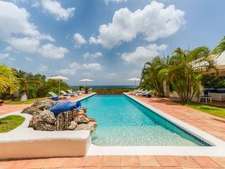 A classic French West Indian villa with fantastic views over looking Baie Longue Beach, the Caribbean Sea and Saba., Terres Basses