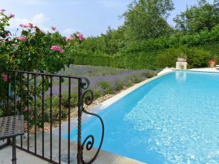 Flat with pool and glorious views, Bonnieux