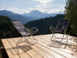 Chalet with pool and panoramic view, Coreglia Antelminelli
