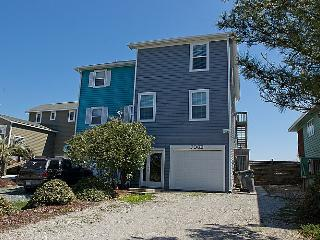 Beach Slap - Astounding View, Coloful & Inviting Interior, Oceanfront Access, Surf City