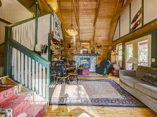 Well-appointed log cabin, blocks from downtown Idyllwild!