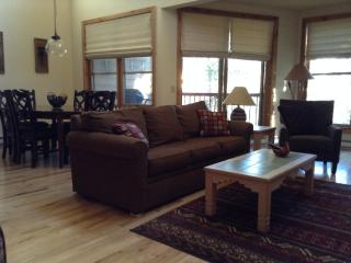 Spacious, Quiet 2 Level 2 BR, 2 BA Mt, View Condo, Keystone