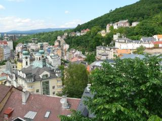 VIEW OF THE CITY NEVER TO BE FORGOTTEN    For 4 p., Karlovy Vary
