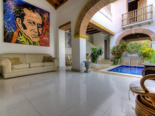 Radiant 3 Bedroom Home in Old Town, Cartagena