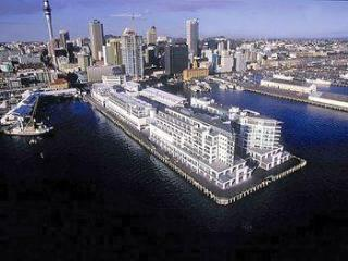 1. Upmarket, top location on Auckland's waterfront