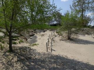 Lakefront Home with Fully-Private Beach!, Huron