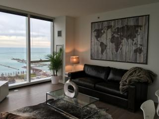 Navy Pier 2 Bed/2 Bath Luxury SkyHouse w/Amenities, Chicago