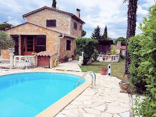 Callian French Riviera, Nice villa 6p, private pool, lovely garden