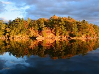 Private Island, 1000 Islands, Gananoque / Ivy Lea
