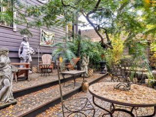 New Listing! Wonderfully Historic 1BR Portland Apartment w/Wifi, Large Private Backyard, Splendid Garden & Fire Pit - Just 10 Minutes from Downtown & Close to Nature Walking Trails!