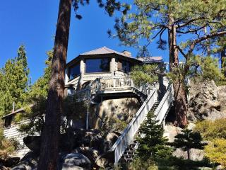 'The Rockpile'  - Old Tahoe Rustic Charm, Like Staying in a Treehouse! 3BR Brockway/Kings Beach House w/Private Hot Tub, Sauna, and Phenomenal Lake Views - Close to Beaches, Hiking Trails & Everything Tahoe Has to Offer!