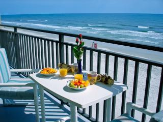 Direct OceanFront in The Moontide Condominium Bldg, New Smyrna Beach