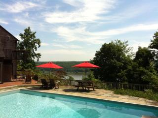 Spectacular Hudson Riverfront House, Pool, Views, Highland