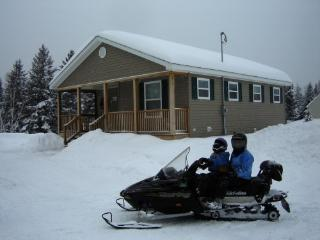 Northern Maine Snowmobiling Camp Rental, Soldier Pond