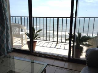 Panoramic view of the Gulf and budget friendly, Galveston Island