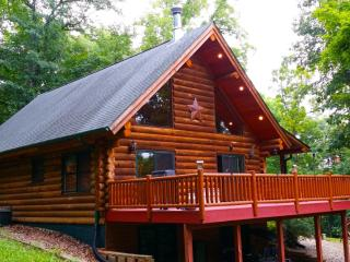 A-Frame Log Home Paint Creek Lodge, Harpers Ferry